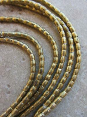 African Brass Spacer Beads -2 Strands