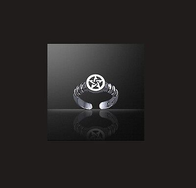Pentacle Toe Ring - Sterling Silver