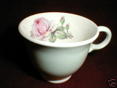 American Limoges China TEA ROSE Demitasse Cup/s Only