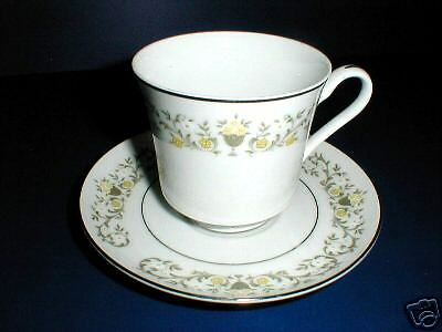 Fine China of Japan FLORENTINE Cup Saucer/s (Loc-Bulk)