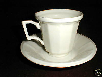 Iroquois China Henry Ford MUSEUM WHITE Saucer Only (loc-sau43)