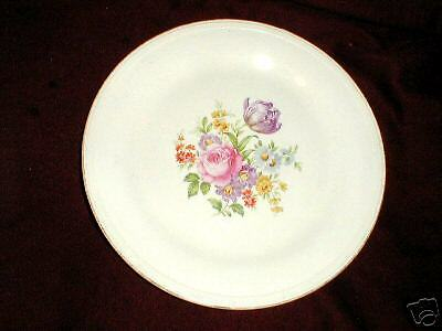 Edwin Knowles #KNO509 Floral Center Dinner Plate