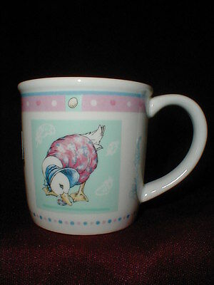 Wedgwood Beatrix Potter Jemima Puddle Duck Child's Cup/Mug Peter Rabbit