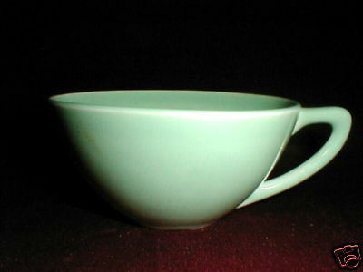 Edwin Knowles China ACCENT Pastel Green Cup Only