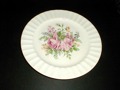 Edwin Knowles Creme Flute PICARDY Dinner Plate