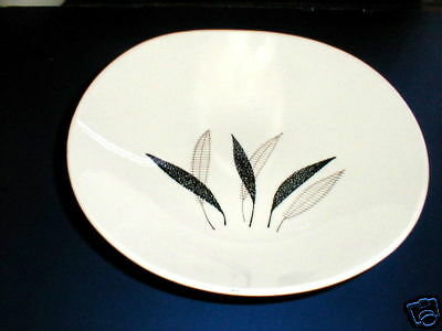 Edwin Knowles China FEATHER FANTASY Round Vegetable Bowl