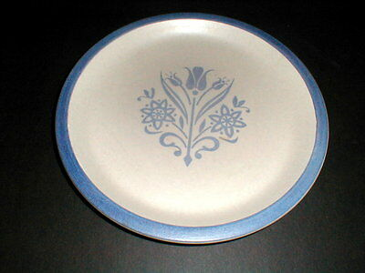 Canonsburg Pottery BLUE TULIP Dinner Plate/s
