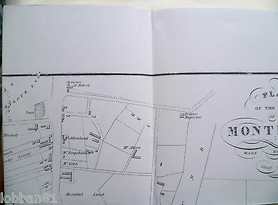 Old Ordnance Survey Map Plan of the Town Montrose Scotland 1822 Brand New