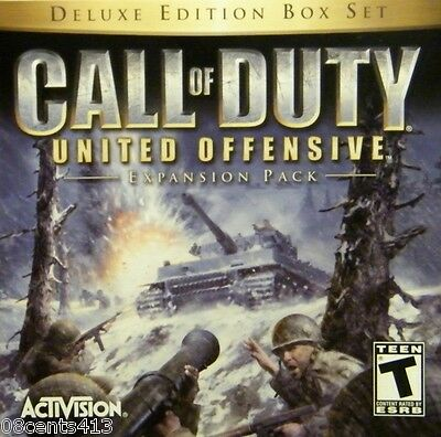 Call of Duty: United Offensive Deluxe Edition (Winows 98/ME/XP/2000) New Weapons