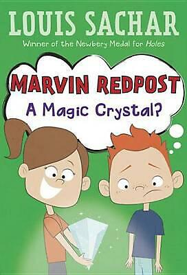 Marvin Redpost #8: A Magic Crystal? by Louis Sachar (English) Paperback Book Fre