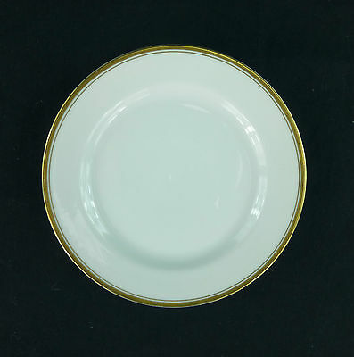H & Co Heinrich Selb Bavaria Bread and Butter Plate Double Gold Band Multiple