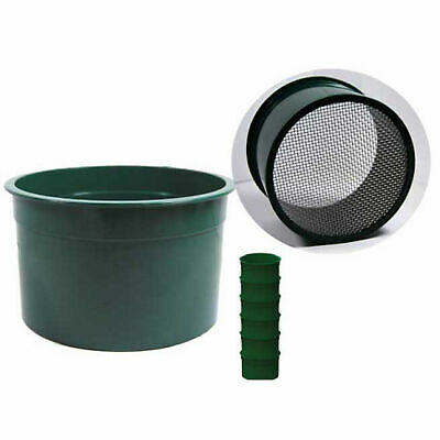 "6 PC 6"" Green MINI Stackable CLASSIFIER Sifting Pans GOLD PANNING Prospecting"