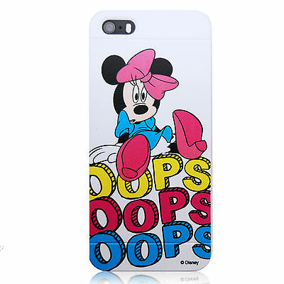 For Apple iPhone 5 5S Minnie Mouse OOPS Disney Colorful Cover Case