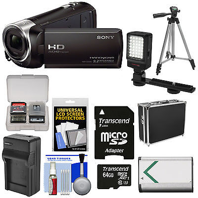 Sony Handycam HDR-CX240 1080p Full HD Video Camera Camcorder Kit 27x Zoom Black