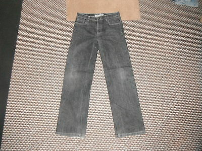 "Denim Co Straight Jeans W 29"" Leg 29"" Faded Black Medium Girls 13/14 Yrs Jeans"