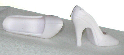 "OFF WHITE Satin Pumps Fit CANDI 16/"" Tyler New Doll Shoes for Fashion Dolls"