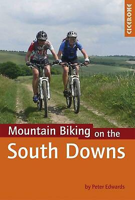 Mountain Biking on the South Downs by Peter Edwards (English) Paperback Book Fre