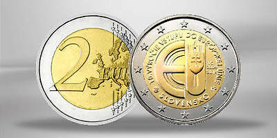 SLOVAQUIE 2 Euro 10th Anniversary of the Entry of Slovak Republic 2014 Rouleau