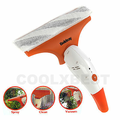 Beldray Electric Window Cleaning Vacuum Vac Interior Outdoor Mirror Shower Car