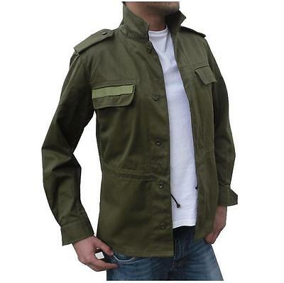 Mens New Classic Military Army Jacket Coat Surplus Field bdu Combat shirt Olive