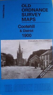 Old Ordnance Survey Map Cootehill & District Shercock Stradone 1900 Godfrey Edit