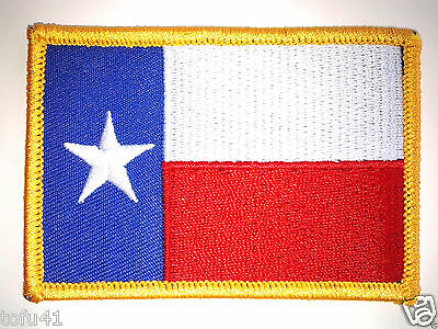 *** TEXAS STATE FLAG*** Biker Patch PM6844 EE