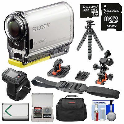 Sony Action Cam HDR-AS100VR Wi-Fi GPS Video Camera Camcorder & Live View Remote