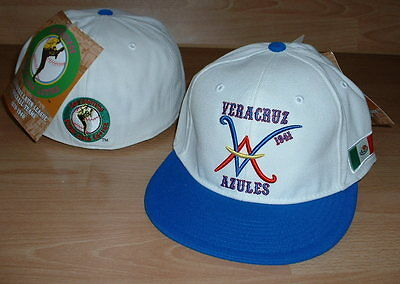 606c8b555bf Veracruz Azules Mexican League Hat Cap Fitted Mens Size 7 1 2 - Latin  Collection
