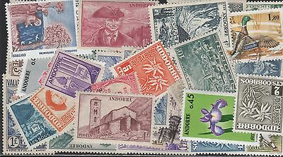 Andorra,fr Stamp Collection -- 95 Different -- Top Quality