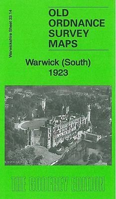 Old Ordnance Survey Map Warwick South 1923