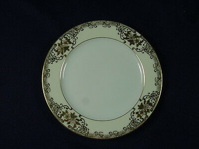 """MEITO FINE CHINA HEAVY GOLD HAND PAINTED 6""""  BREAD & BUTTER PLATE"""