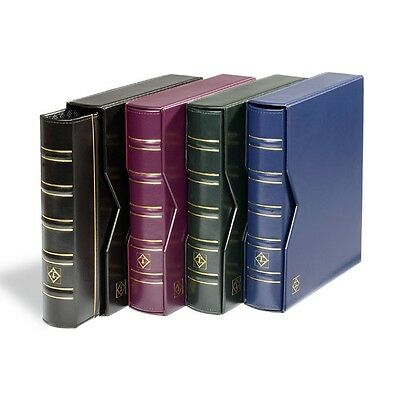 Optima Classic Coin or Banknote Album with Optional Slipcase