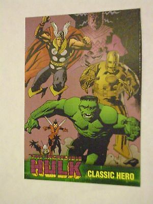 MARVEL THE INCREDIBLE HULK TOPPS 2003 BASE CARD #50 CLASSIC HERO