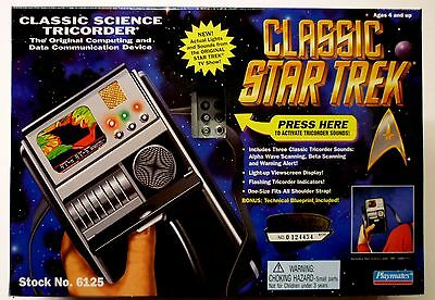 Star Trek Classic Science Tricorder Actual Lights & Sounds from TV Show New 1995