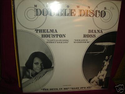 """Diana Ross Your Love Is So Good For Me / Thelma Houston I Can't Go On Living 12"""""""