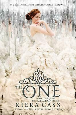 The One by Kiera Cass (English) Hardcover Book Free Shipping!