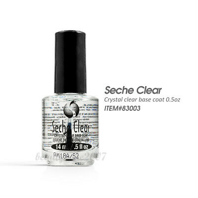 Seche Vite Crystal Clear Base Coat .5oz