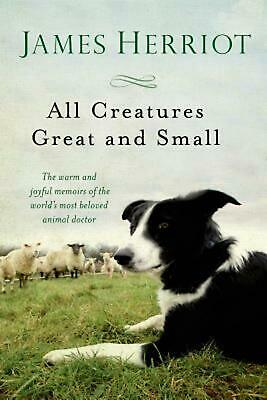 All Creatures Great and Small by James Herriot (English) Paperback Book Free Shi