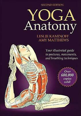 Yoga Anatomy by Leslie Kaminoff (English) Paperback Book