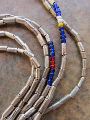 African Silver Spacers -2 Strands