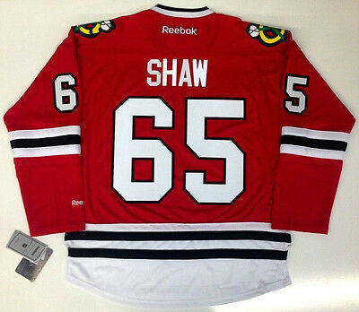 Andrew Shaw Chicago Blackhawks Reebok Nhl Premier Jersey New With Tags