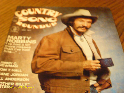 Marty Robbins  Covers Country Song Roundup Magazine July 1977 Tom T Hall