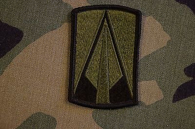 Authentic US Army 177th Armor Brigade Subdued BDU Sew On Military Patch
