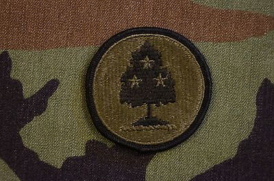 Authentic US Army Tennessee Army National Guard Subdued BDU Military Patch