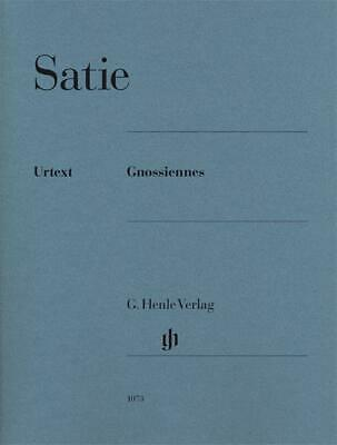 Erik Satie Gnossiennes (Urtext Edition), Sheet Music- Piano - 9790201810737
