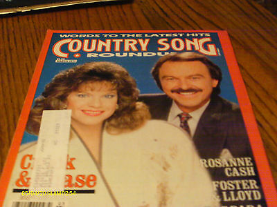 Crook & Chase Cover Country Song Roundup Magazine March 1991 Rosanne Cash