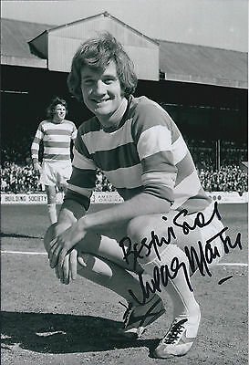 Rodney MARSH SIGNED Autograph 12x8 Photo AFTAL COA QPR Rare Genuine LEGEND