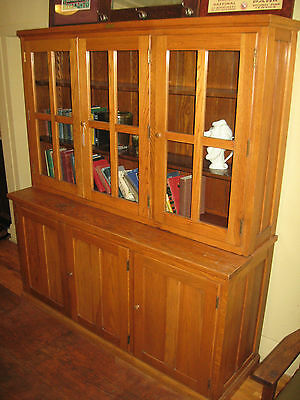 WE SHIP! SCHOOL/CHINA Cabinet Kitchen Pantry Cupboard E H ...