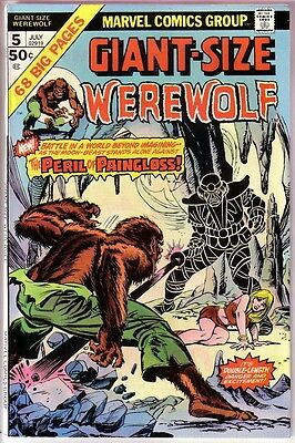 Giant-Size Werewolf #5,bronze Age,high Grade Collection!