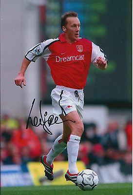 Lee DIXON Signed Autograph 12x8 Photo AFTAL COA ARSENAL Legend Authentic